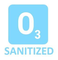 O3 sanitized