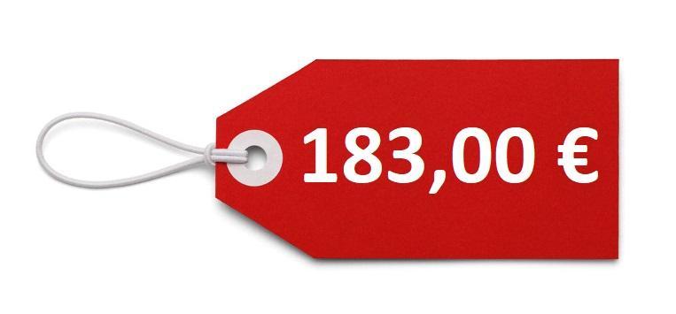 PREZZO 183,00